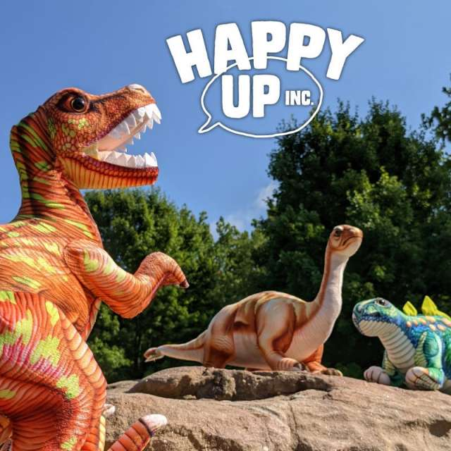 Happy Up has Dinosaurs! Let's go see!