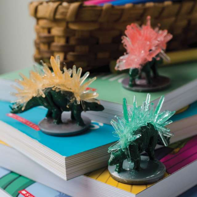 Sparkle Formations: Crystal Dinosaurs