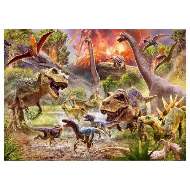 Dinosaur Dash 60 pc Jigsaw Puzzle