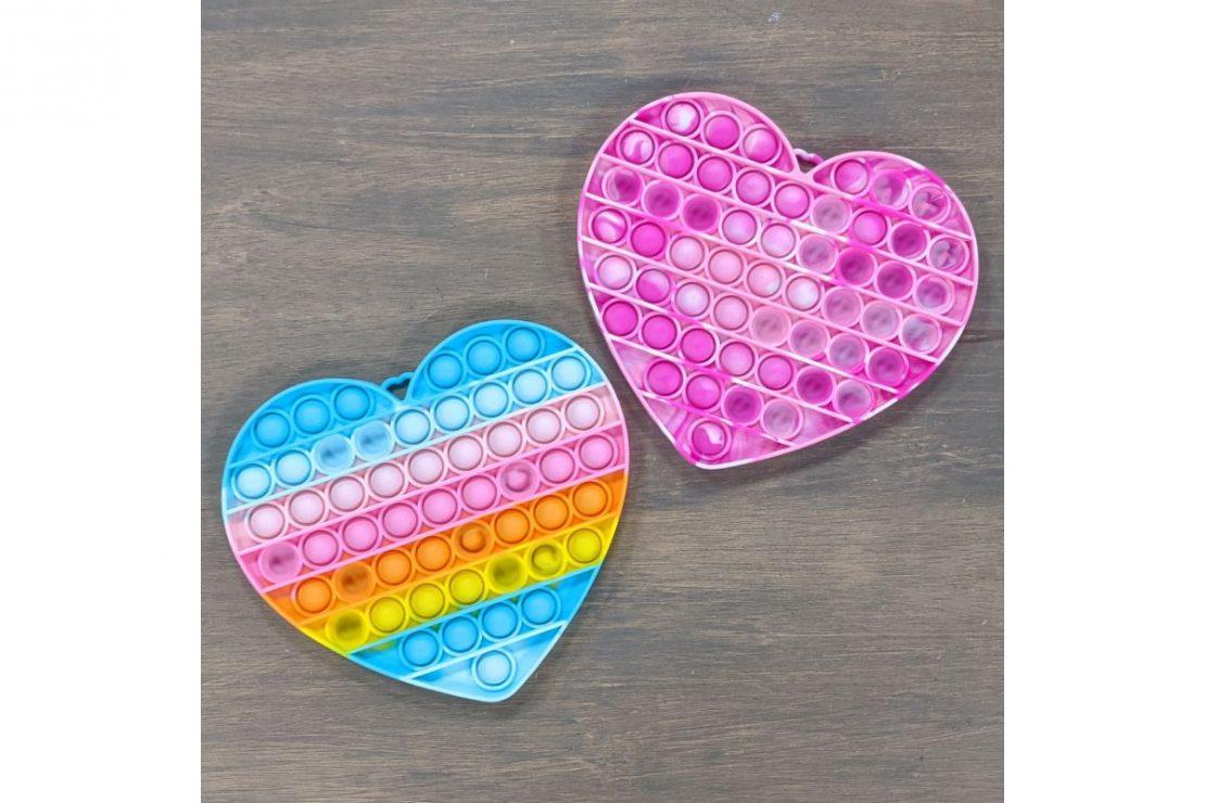 OMG Pop Fidgety XXL Hearts
