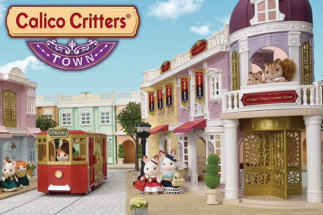 Calico Critters Town Streetscape