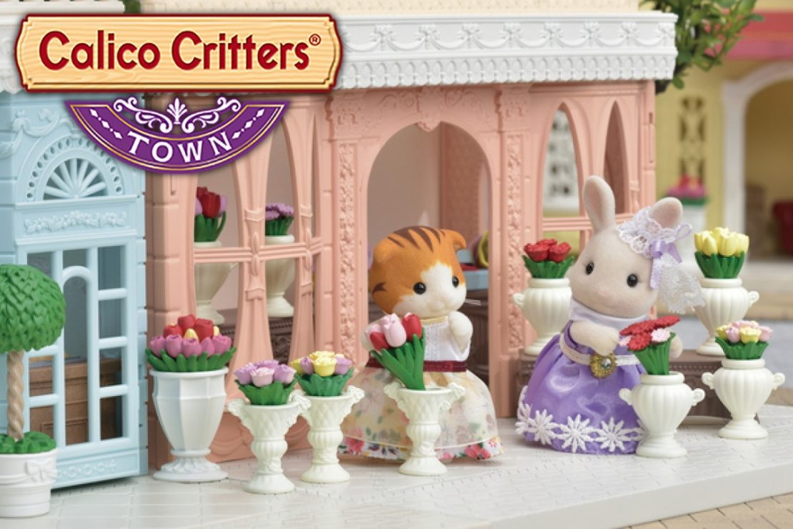 Calico Critters Town Flower Shop