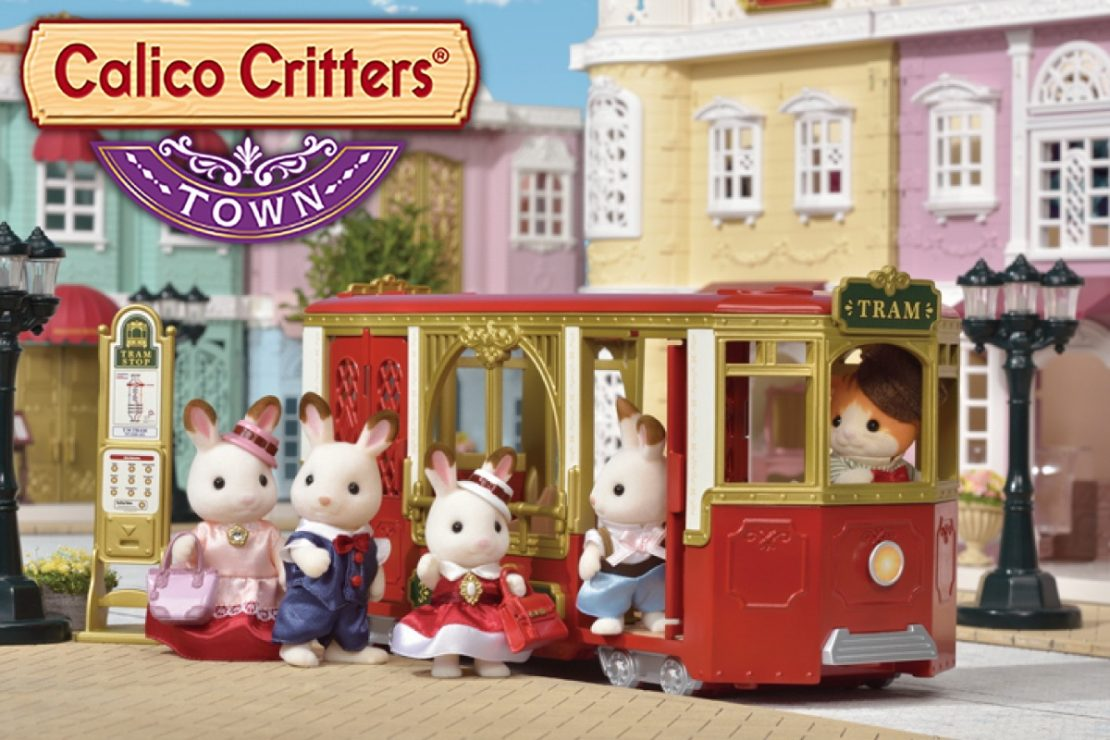 Calico Critters Town Tram