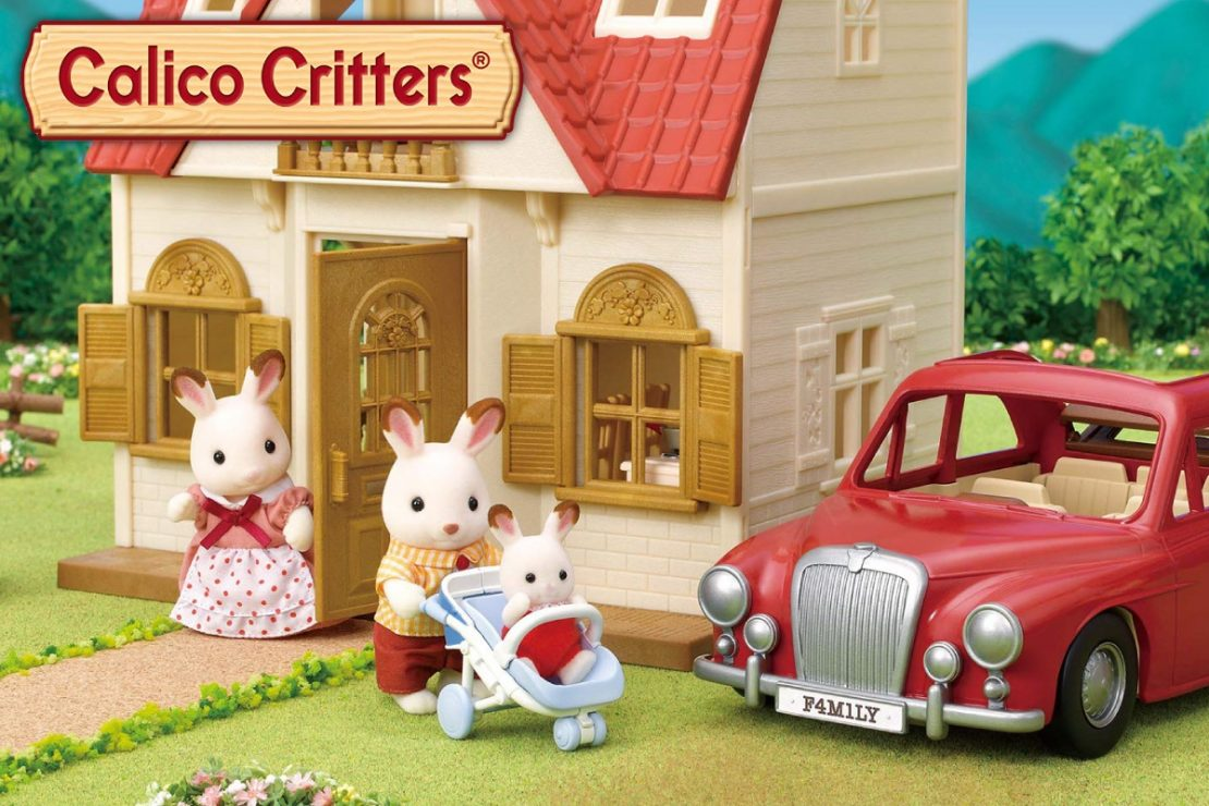 Calico Critters Cozy Cottage + Family Cruiser