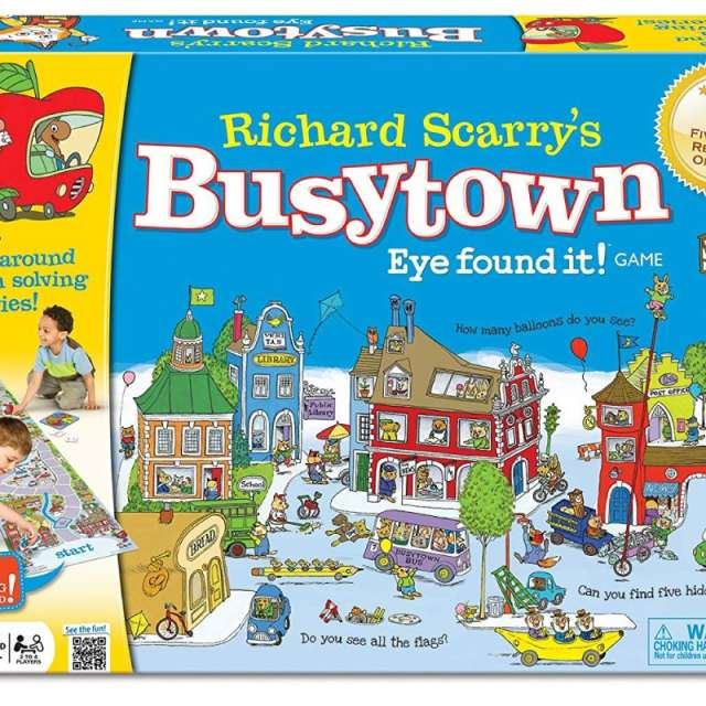 Richard Scarry's Busytown Eye Found It