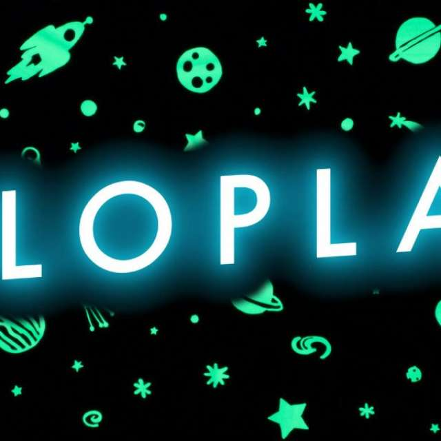 GloPlay Wall Decals