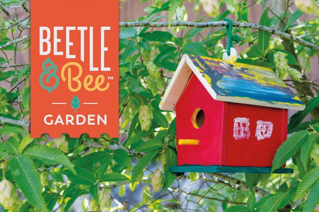 Beetle & Bee Kid's Garden Creature Houses