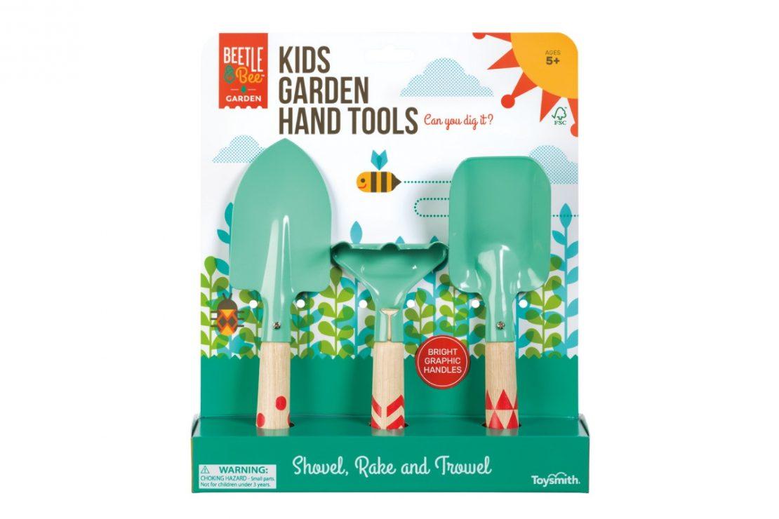 Beetle & Bee Kid's Garden Hand Tool Set