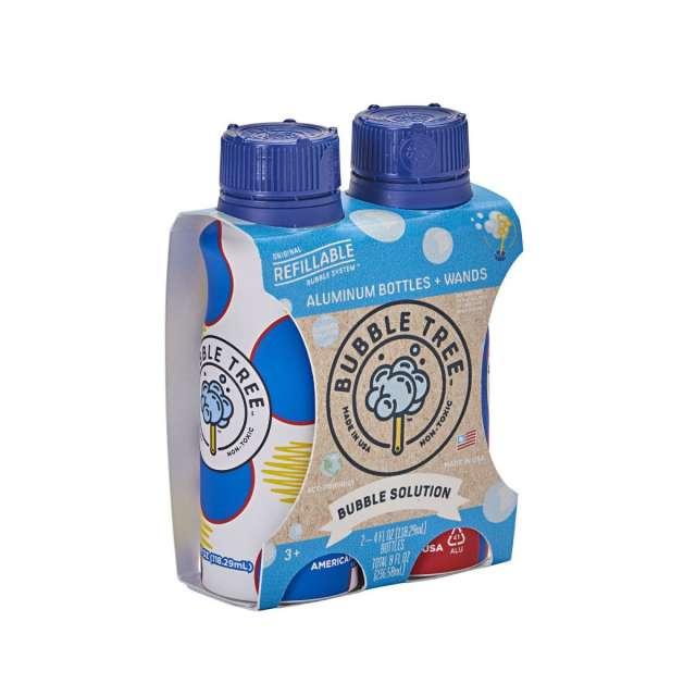 Aluminum Bubble Bottle 2-pack