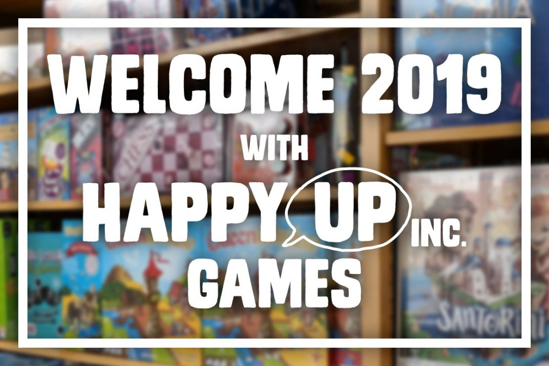 Welcome 2019 With Happy Up Games