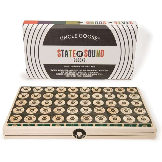 State of Sound Wooden Blocks and other show-stopper gifts!