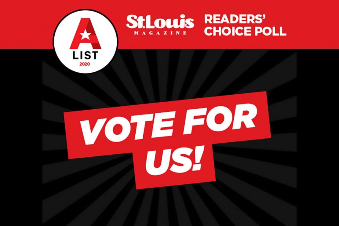 Vote for Us in St. Louis Magazine's Readers' Choice Poll!