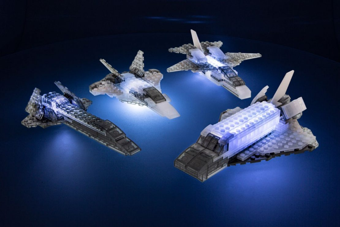 Laser Pegs Aircraft