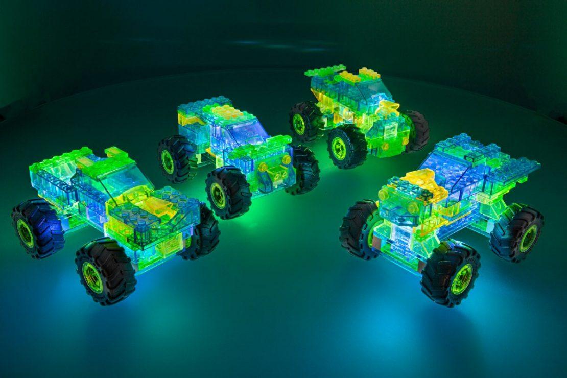 Laser Pegs Mega Trucks