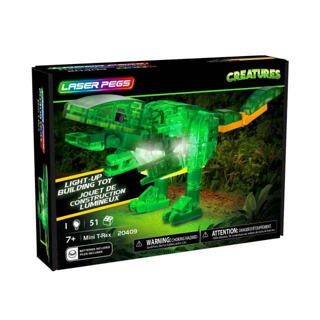 Laser Pegs Creatures - Mini T-Rex