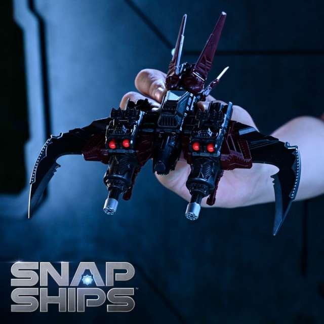 Snap Ships Komplex Scarab K.L.A.W. Interceptor