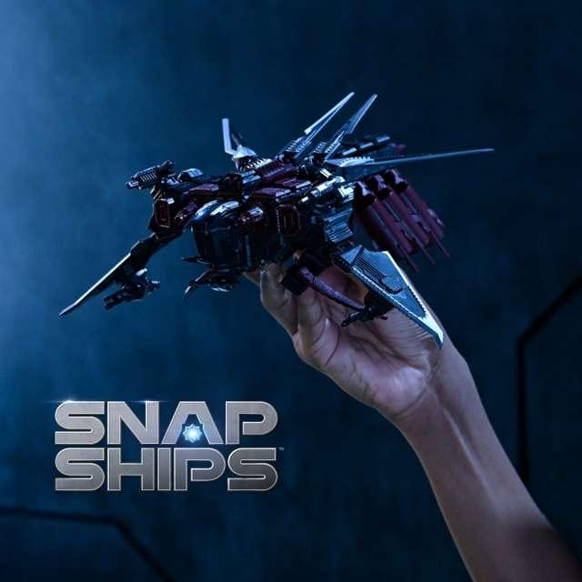 Snap Ships Komplex Scorpion K.L.A.W. Troop Dropper