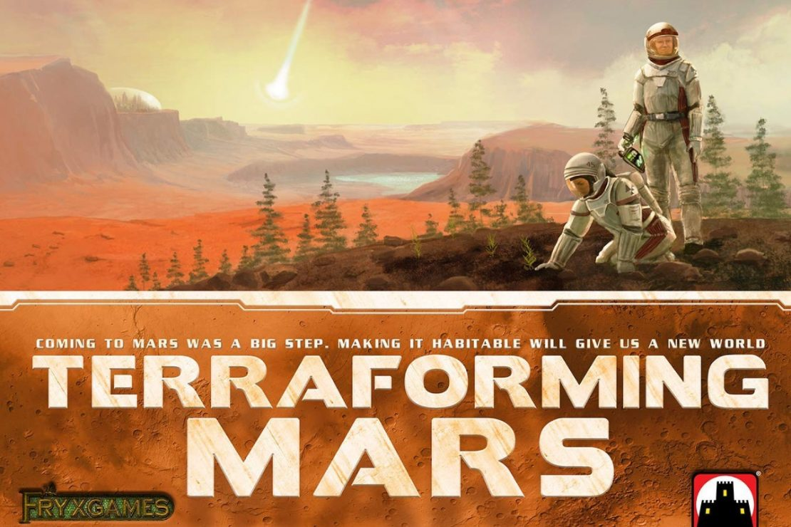 Terraforming Mars from Fryx/Stronghold Games