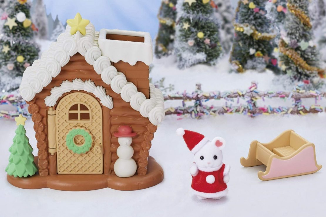 Limited Edition Calico Critters Gingerbread Playhouse