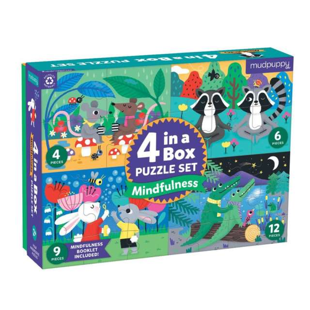 Mindfulness 4 in 1 Puzzles