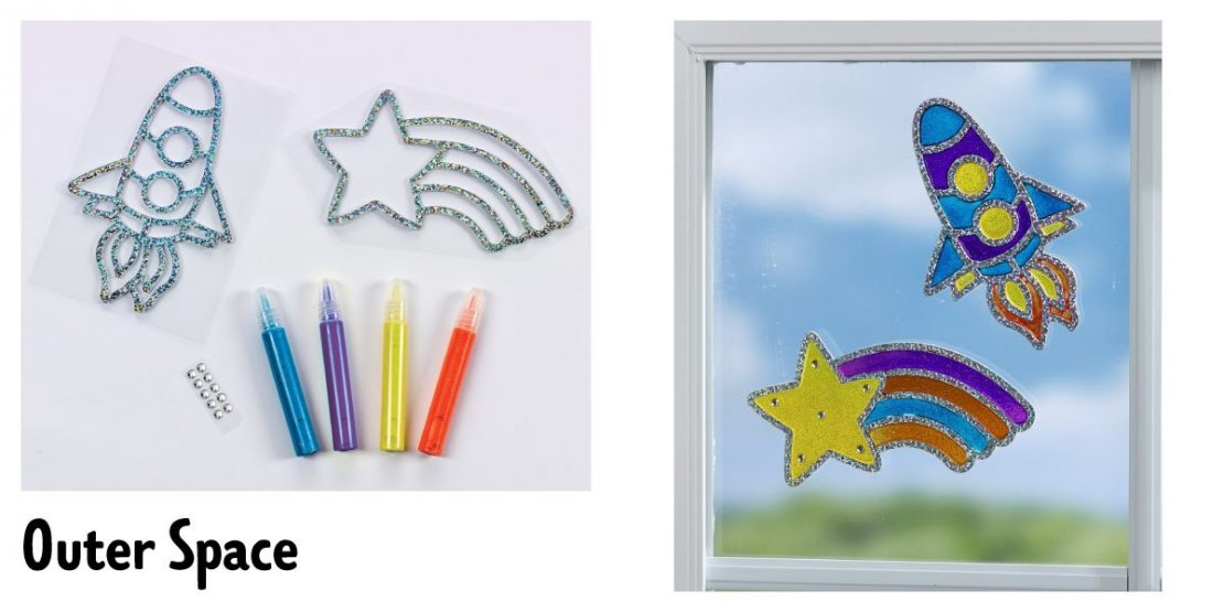 #3 Sun-Tastic Window Art June 15th Outer Space