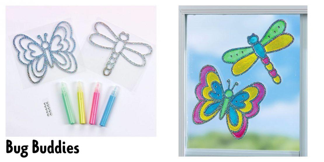 #3 Sun-Tastic Window Art June 15th Bug Buddies