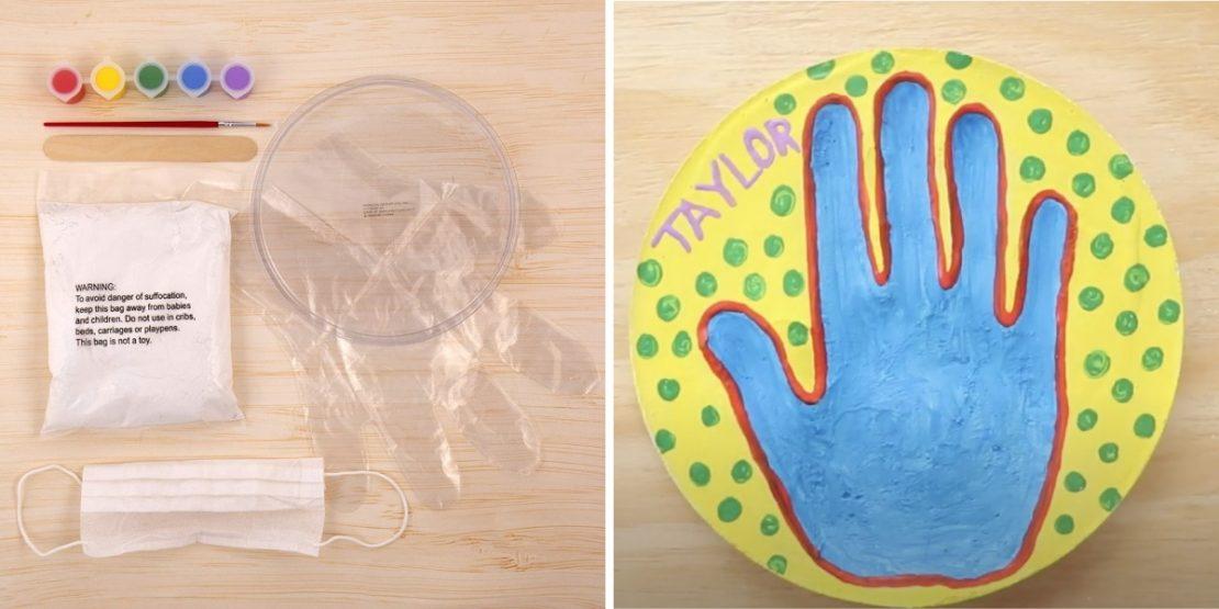 Handprint Keepsakes Kidtivities Event