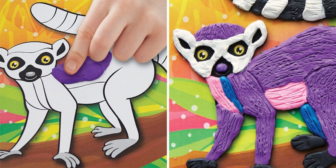 Coloring With Clay Kidtivities Event