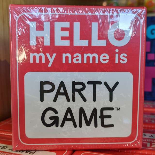 Hello my name is… Party Game