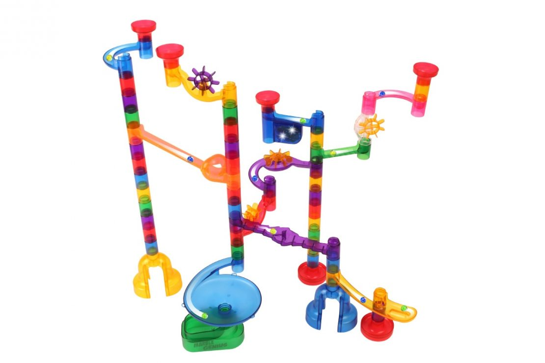 Marble Genius Wacky Lights & Sounds Marble Run
