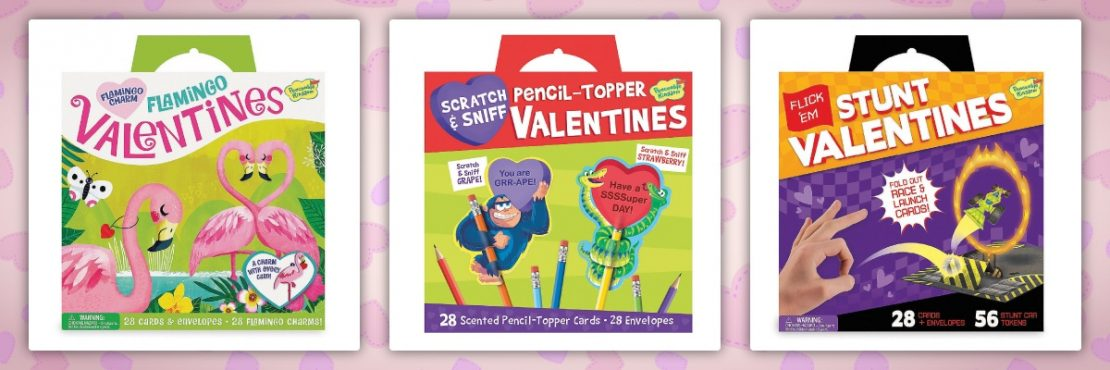 Peaceable Kingdom Class Pack Valentines
