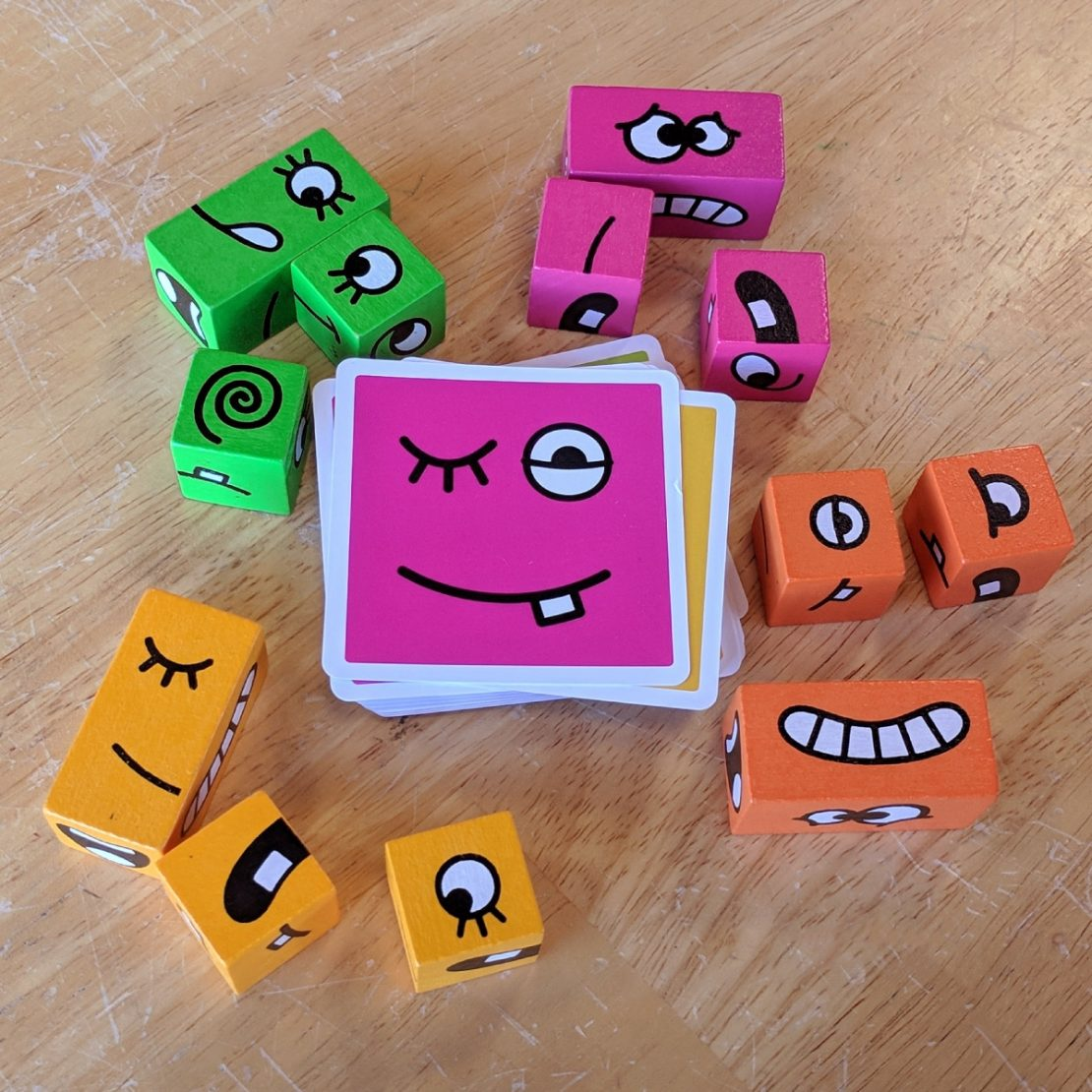 Cubeez game from Blue Orange Games