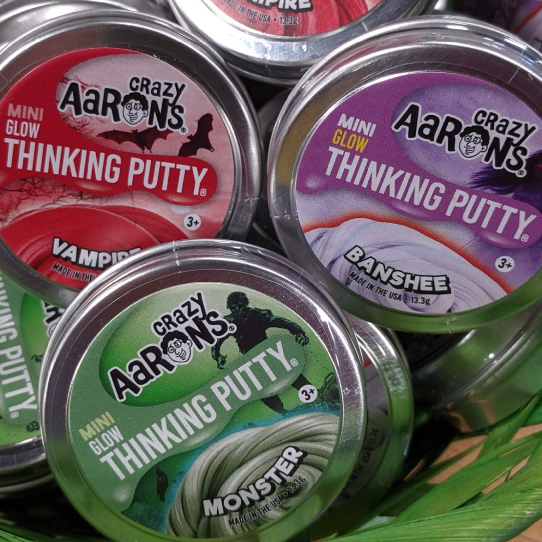 Halloween Mini Tins from Crazy Aaron's Thinking Putty