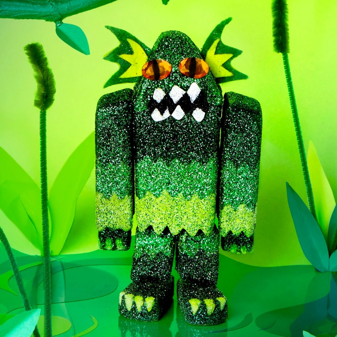 Paint Your Own Swamp Creature from Kid Made Modern with your add-ons