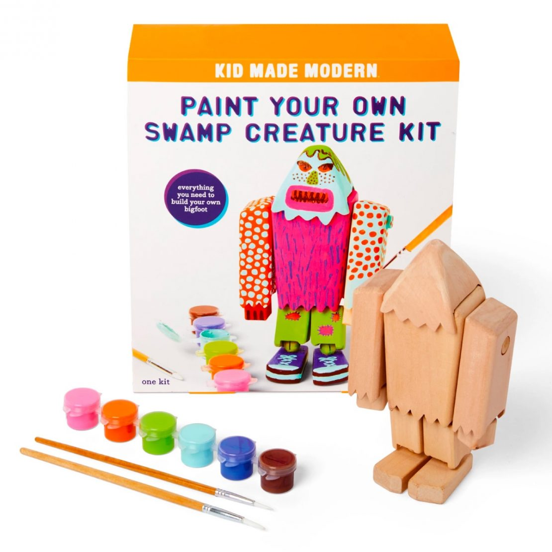 Paint Your Own Swamp Creature from Kid Made Modern