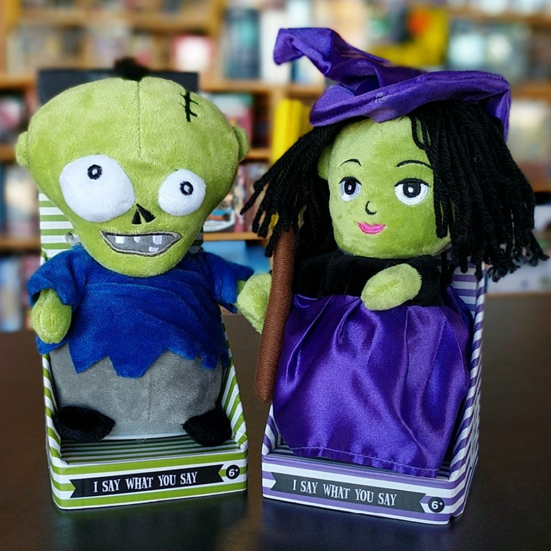 Speak & Repeat Witch or Zombie from Cupcake and Cartwheels
