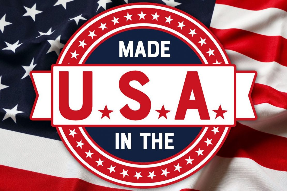 Green and Made in the USA!