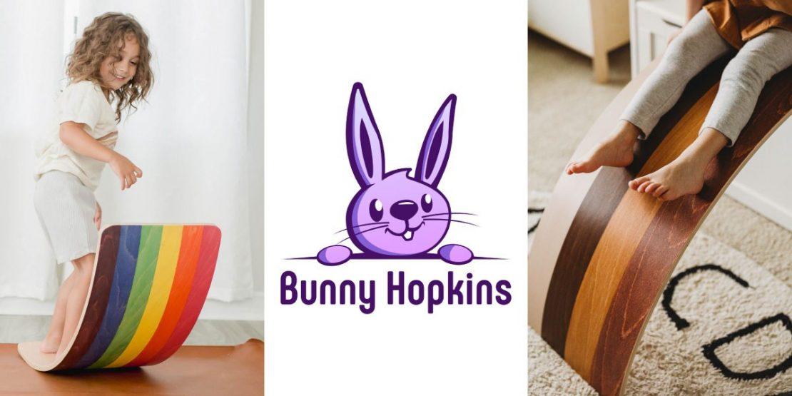 Bunny Hopkins Wobble Boards