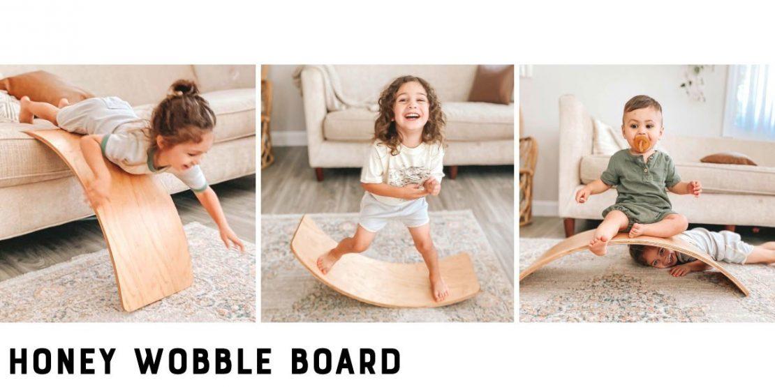 Bunny Hopkins Honey Wobble Board