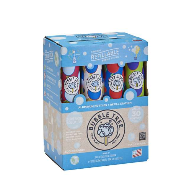 BubbleTree 3 Liter Bubble System with 4 Bottles