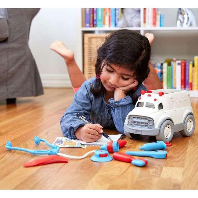 Green Toys Ambulance & Doctor Set