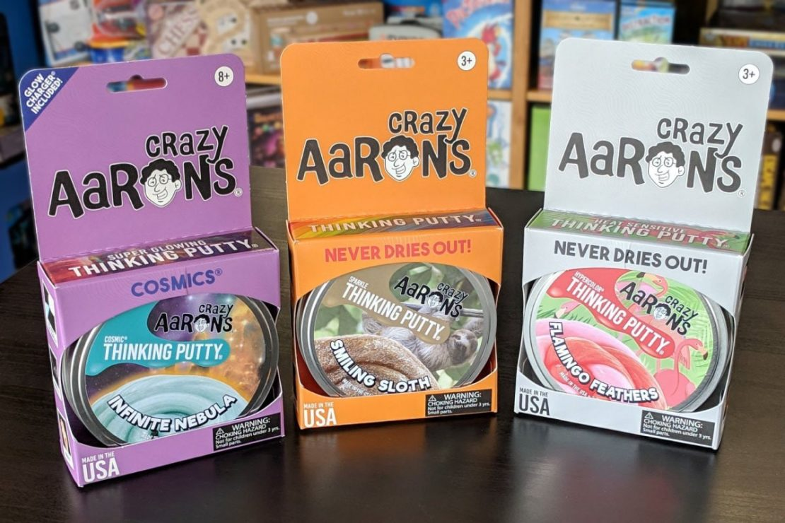 Crazy Aaron's Thinking Putty Spring 2019