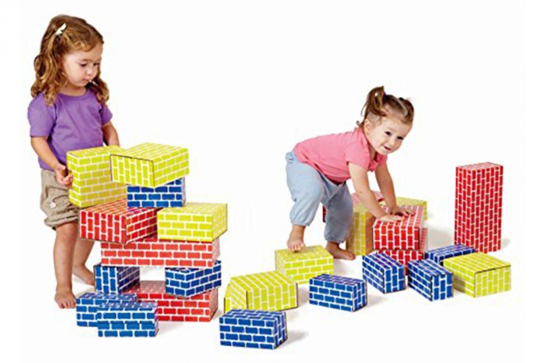 Smart Monkey Cardboard Blocks