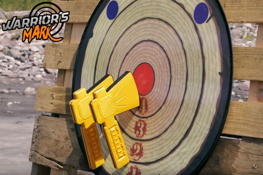 Axe Throwing from Warrior's Mark