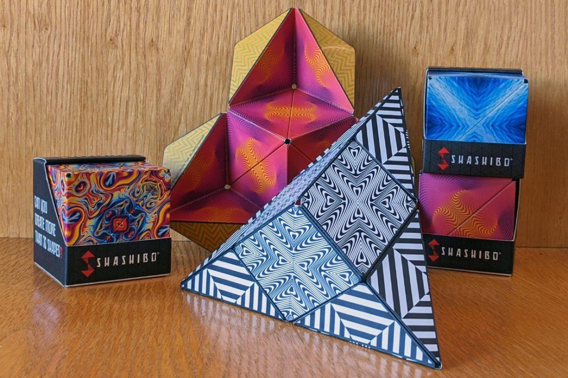 Shashibo Puzzle Cubes