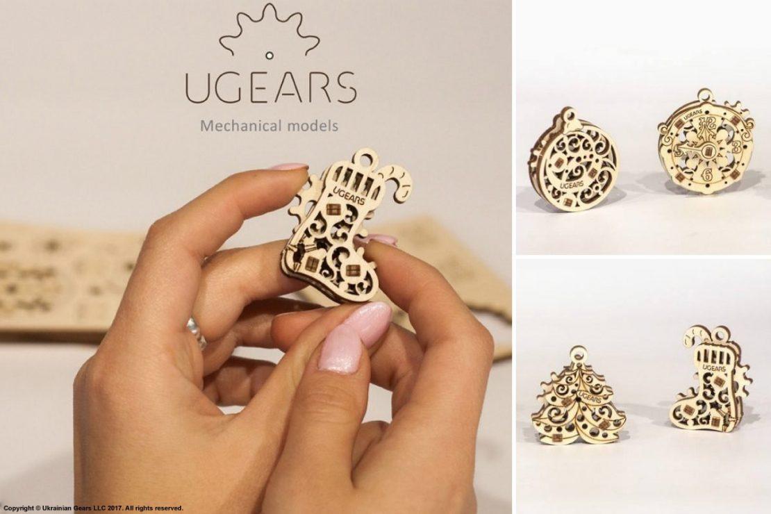 UGears Mini 4 Pack
