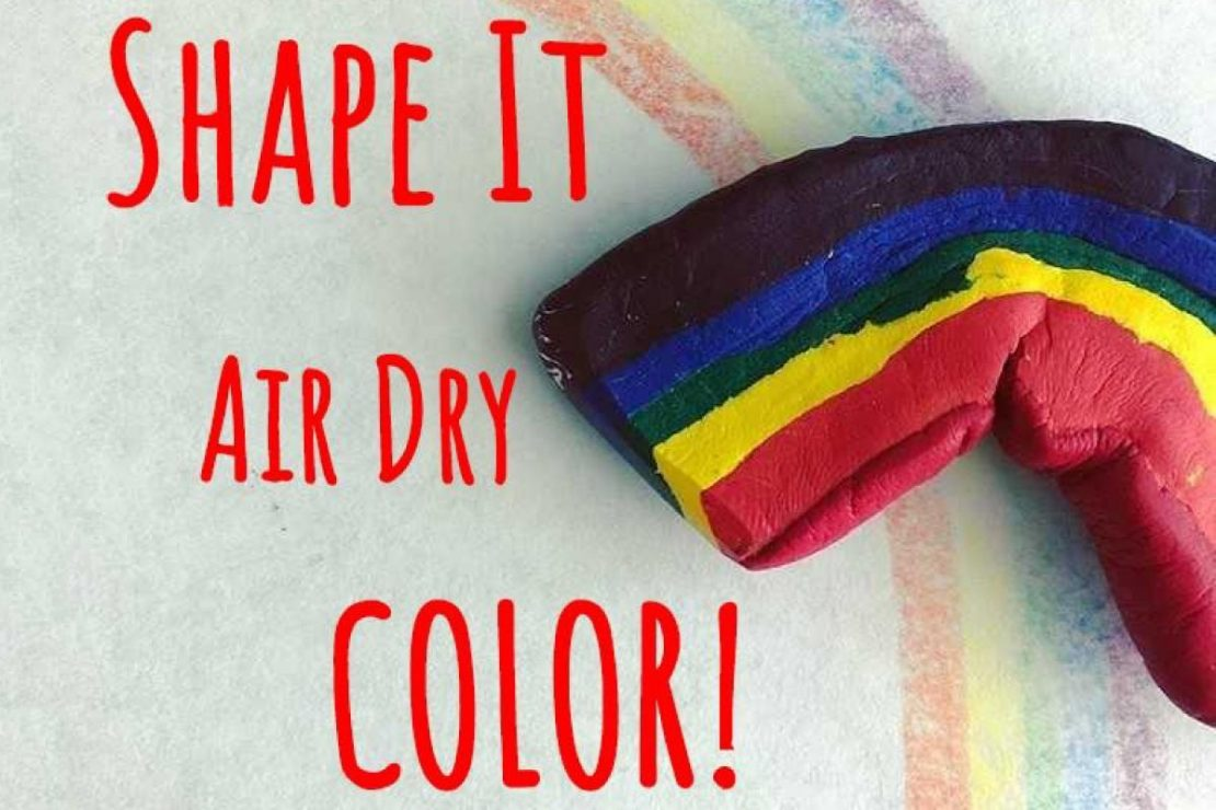Crayon Clay: Shape It, Air Dry, Color!