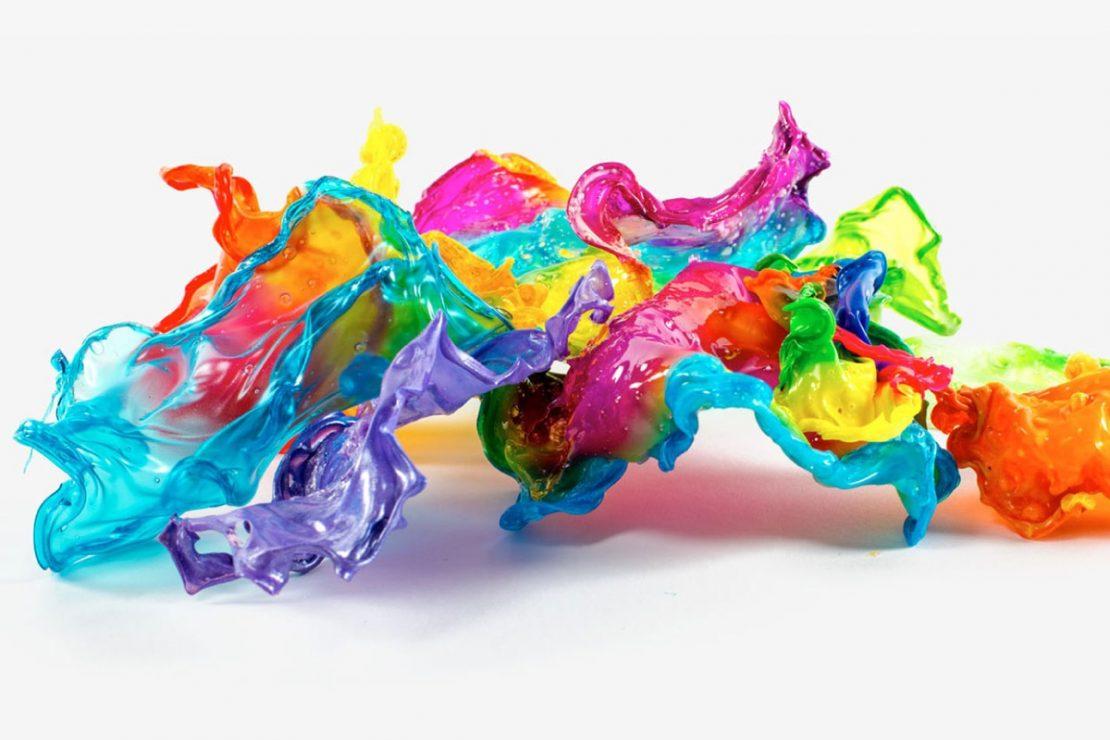 Slime Art Sculpture