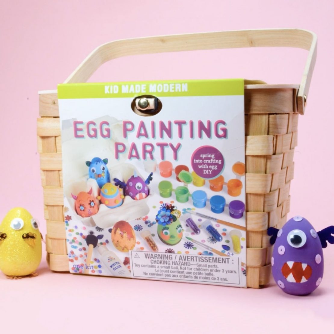 Egg Painting Party from Kid Made Modern