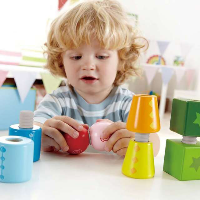 Twist & Turnable blocks from Hape